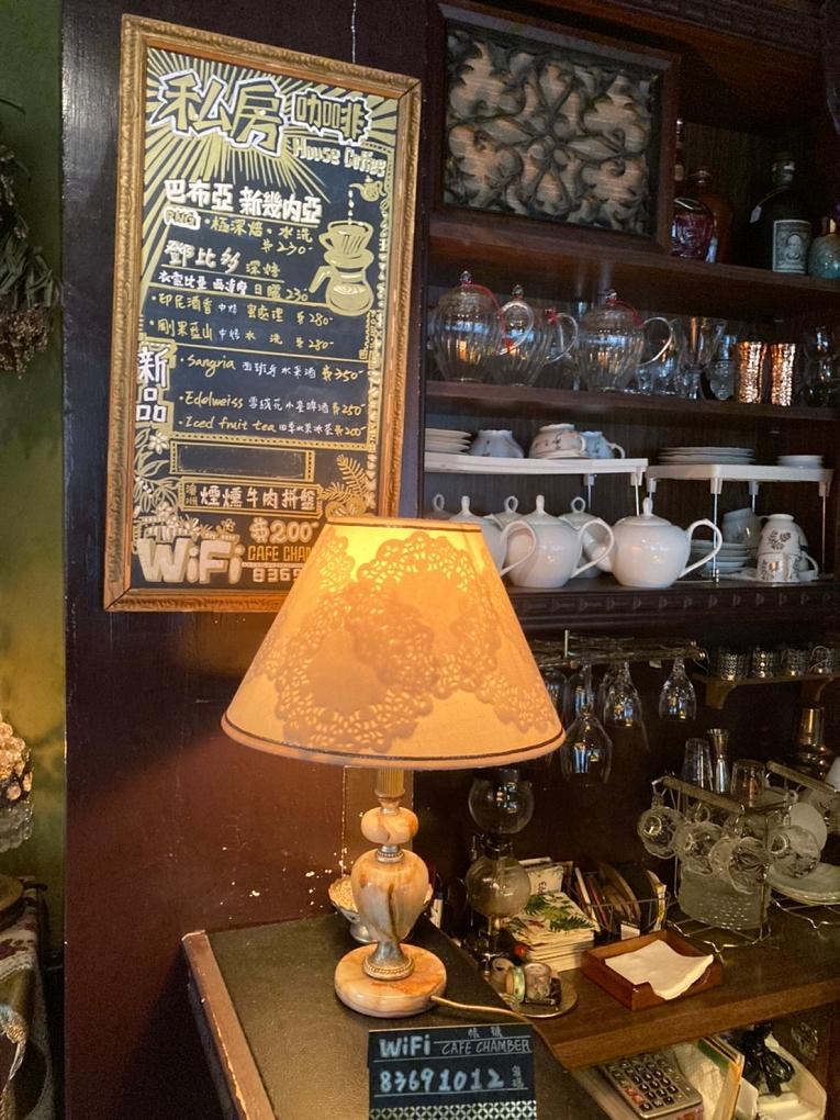 【台北 古亭站咖啡館】秘氏珈琲 Café Chamber @貝大小姐與瑞餚姐の囂脂私蜜話