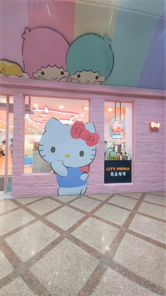 【台北 西門商圈】7-11 X三麗鷗聯名店 – 轉角遇見Hello Kitty @貝大小姐與瑞餚姐の囂脂私蜜話