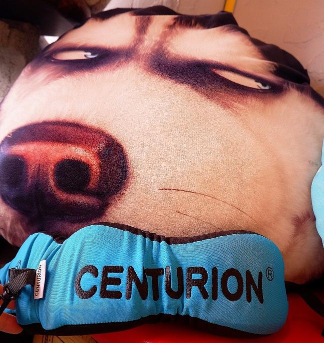 【旅行用品推薦】CENTURION百夫長捲捲記憶棉旅行枕 可拆洗可調式防滑繩 @貝大小姐與瑞餚姐の囂脂私蜜話