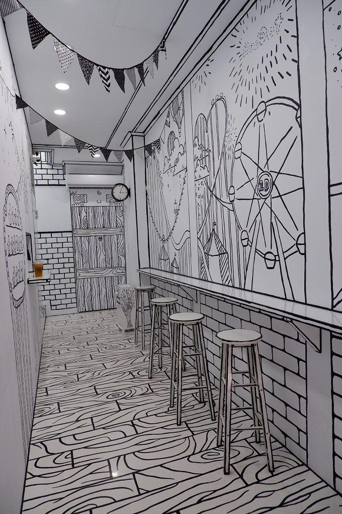 【台中 中區網美店】2D cafe台中旗艦店 @貝大小姐與瑞餚姐の囂脂私蜜話