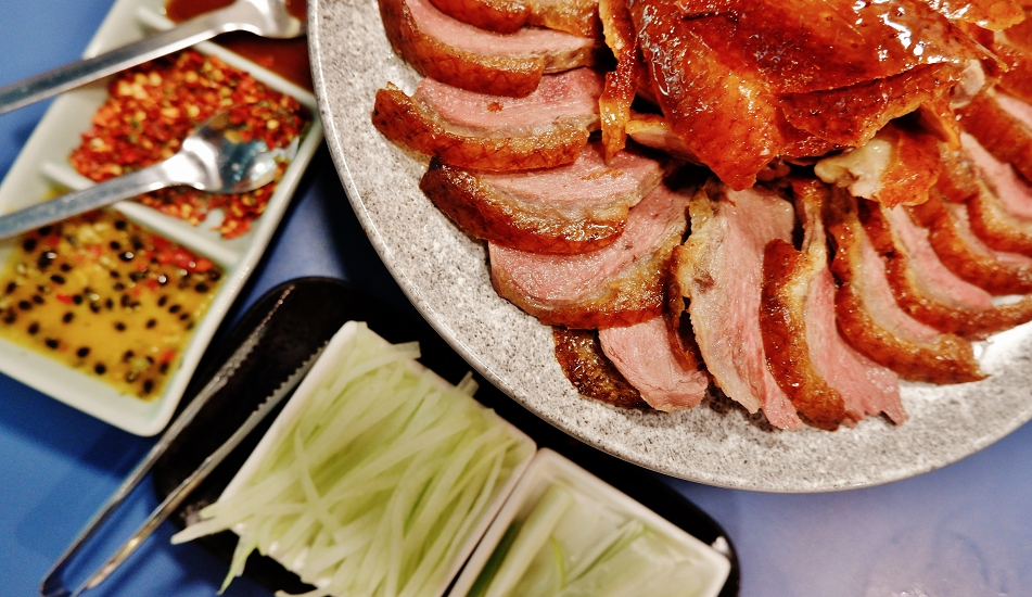 【板橋烤鴨餐廳】XIANG DUCK 享鴨 烤鴨與中華料理 板橋縣民大道店 板橋中式料理餐廳 @貝大小姐與瑞餚姐の囂脂私蜜話