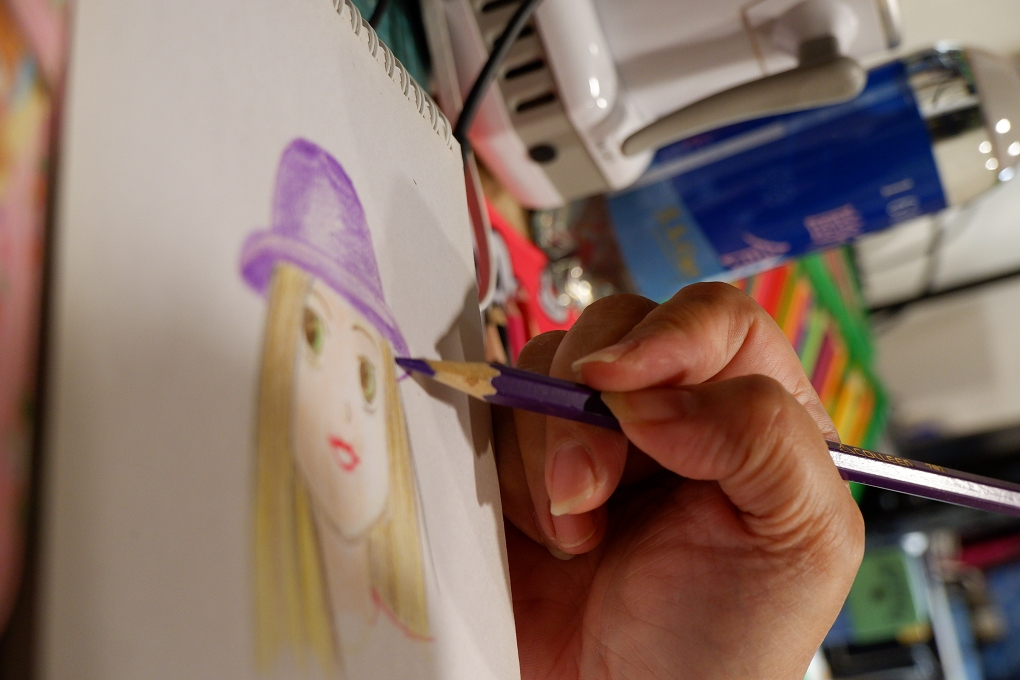 【疫起在家找事做】藝術療癒-色鉛筆畫篇 @貝大小姐與瑞餚姐の囂脂私蜜話
