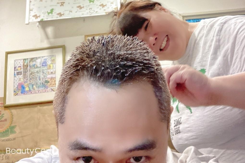 【疫起在家找事做】幫家人染頭髮 #好家在我在家 @貝大小姐與瑞餚姐の囂脂私蜜話