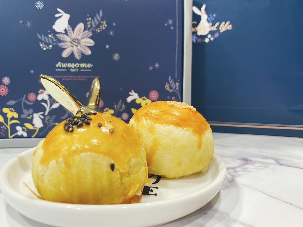 【網購中秋月餅】媽咪里啦蛋黃酥禮盒 可愛的小兔子帶來感動與驚喜 @貝大小姐與瑞餚姐の囂脂私蜜話