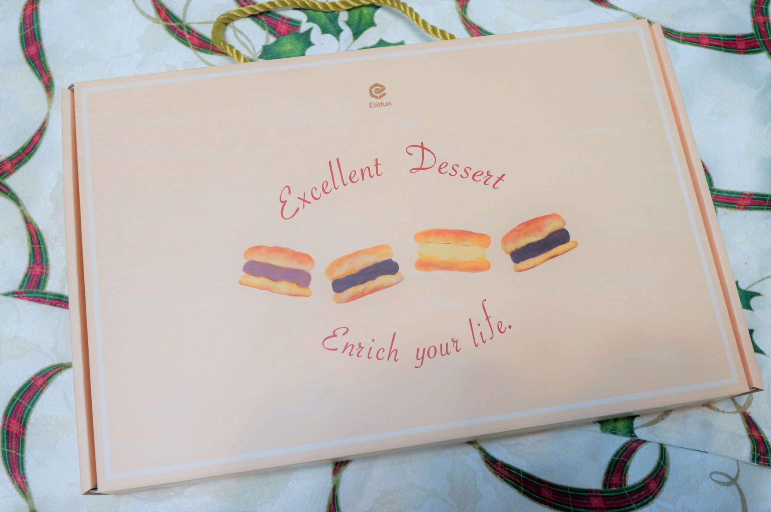 【網購甜點】Elitfun E立方 舒芙蕾口感的BIG銅鑼燒禮盒 @貝大小姐與瑞餚姐の囂脂私蜜話