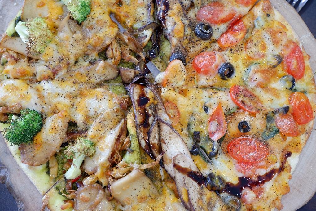 2057【新北 板橋蔬食推薦】V.Gest 披薩 低碳飲食 caf'e @貝大小姐與瑞餚姐の囂脂私蜜話