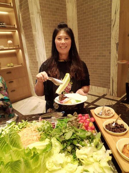 【台北 劍南路站】萬豪酒店Garden Kitchen @貝大小姐與瑞餚姐の囂脂私蜜話