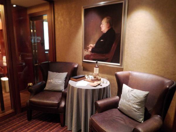 【台北 南京復興站美食】邱吉爾爵士雪茄館 Churchill Cigar Lounge 台北威斯汀六福皇宮 @貝大小姐與瑞餚姐の囂脂私蜜話