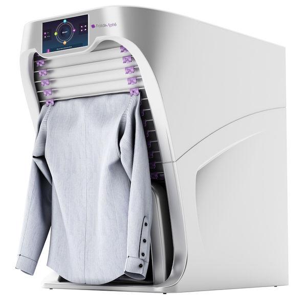 【家電新資訊】摺衣服機器人 laundry-folding robot @貝大小姐與瑞餚姐の囂脂私蜜話