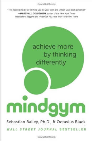 【好書推薦】Mind Gym: Achieve More by Thinking Differently @貝大小姐與瑞餚姐の囂脂私蜜話