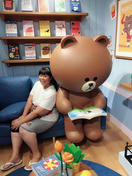 【泰國 曼谷】LINE Village Bangkok @貝大小姐與瑞餚姐の囂脂私蜜話