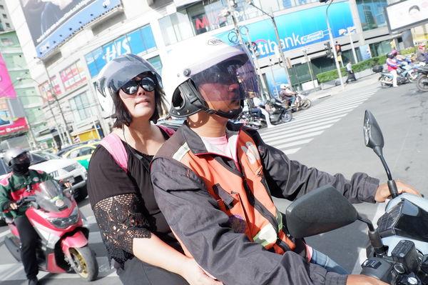 【泰國 曼谷交通工具】摩托計程車 Motorbike Taxi มอเตอร์ไซค์รับจ้าง @貝大小姐與瑞餚姐の囂脂私蜜話