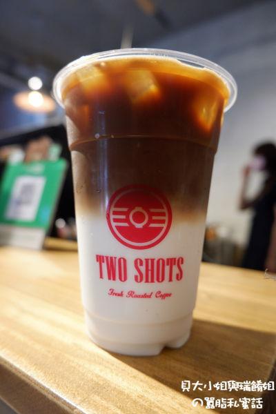 受保護的內容: 【台北 中山站咖啡推薦】中山咖啡 TWO SHOTS 中山南西店 @貝大小姐與瑞餚姐の囂脂私蜜話
